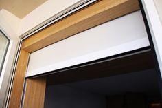 Descubre cómo es el resultado de instalar una enrollable interior con cajón Bandalux con sistema doble para un piso del Paseo Marítimo de Palma.