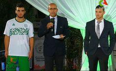 Ceci est le nouveau Maillot de foot Algerie pas cher pour la saison 2016 Olympics;