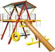 Imagem do Playground de Madeira Grande