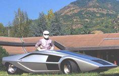 Bertone Lancia Stratos Zero Concept Car (1970)