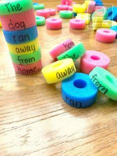 Pool noodles seem like pretty much a summer activity, but it turns out there are lots of ways to use pool noodles for DIY crafts! Here are a few ideas...