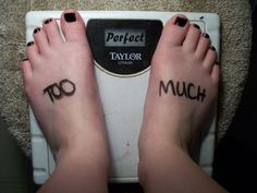 Anorexia is a Dangerous Thing by MidnightDreamShadow.deviantart.com on @DeviantArt