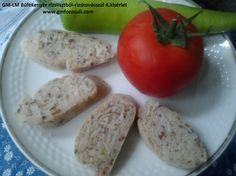 GM-LM Bűfékenyér 4.kisérlet bkép Baked Potato, Potatoes, Eggs, Keto, Baking, Vegetables, Breakfast, Ethnic Recipes, Food