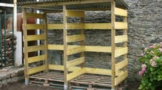2013-09 Construction d'un abri à bois de chauffage - vidéo dailymotion