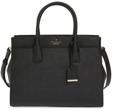 Just got this purse in red and I'm obsessedddd!!!! Kate Spade New York Cameron Street - Candace Leather Satchel - Black