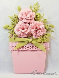 HYCCT1316 Flower Pot Closed by kittie747 - Cards and Paper Crafts at Splitcoaststampers