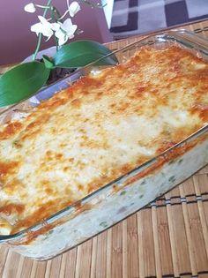 Sajtmártásos, rakott csirkemell Lasagna, Chicken Recipes, Recipies, Food And Drink, Pizza, Cooking Recipes, Bread, Cheese, Baking