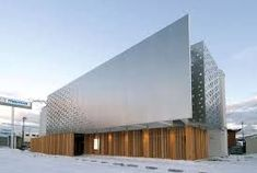 A building's facade is its signature and the way it presents itself to the world. Designing the facade of a building is like wrapping a present. Design Exterior, Facade Design, Interior Exterior, Parametric Architecture, Architecture Panel, Interior Architecture, Architecture Company, Building Exterior, Building Facade