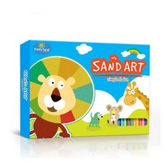Set Planse de Colorat cu Nisip AnimalWorld – OacOac.ro Sand Art, Toy Chest, Storage Chest, Cabinet, Toys, Pretty, Home Decor, Clothes Stand, Activity Toys