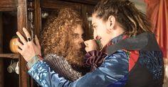 Costumes of Gina and Ferdinando - Brazilian soap opera Meu Pedacinho de Chão