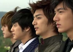 Boys over Flowers (K-Drama) F4 Boys Over Flowers, Boys Before Flowers, Flower Boys, Lee Min Ho, Pretty Cure, Asian Actors, Korean Actors, Korean Dramas, Live Action