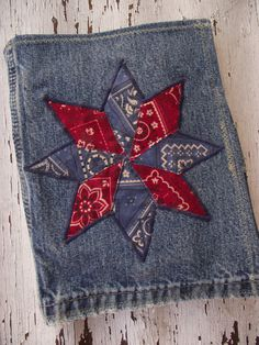 Denim Quilts & Horses Stationery Gift Set $25.00 Love this idea for a quilt block