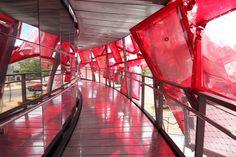 Coca cola pavilion. London Olympics 2012 Temporary Architecture, Pavilion Design, Coca Cola, Olympics, Fair Grounds, London, Travel, Viajes, Coke