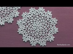 How to crochet a doily Part 1 Easy Crochet Doily for Beginners Step by step Tutorial - YouTube