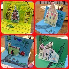 Pop-Up Architecture in Kindergarten