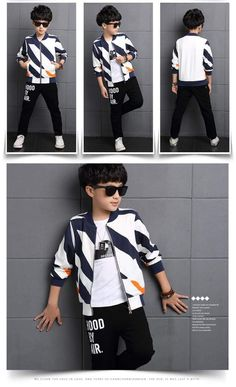 Sport Clothes Children Spring 2-pc Clothes Set Kids – Trending Accessories Kids Sports Clothes, Sport Outfits, Boy Outfits, China National Day, Holidays In China, Hood By Air, Cocktail Wear, Outfit Sets, Winter Jackets