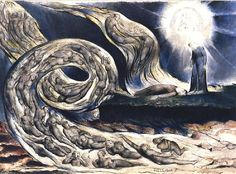 Painter of the Week William Blake. Today The Lovers Whirlwind Painter of the Week: William Blake. Today: The Lovers Whirlwind William Blake Paintings, William Blake Art, Dante Alighieri, Yves Tanguy, Art Romantique, Birmingham Museum, Birmingham Art, Dantes Inferno, Pen And Watercolor