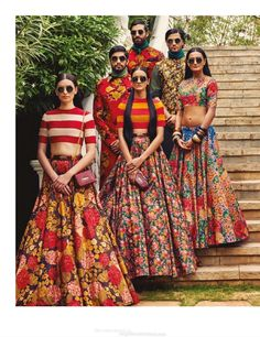 Vogue India - April 2015 Those skirts are adorable! Saris, Lehenga Designs, Indian Attire, Indian Wear, India Fashion, Asian Fashion, Indian Dresses, Indian Outfits, Indie Mode