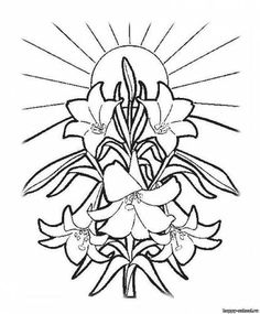 25 religious easter coloring pages business crosses pinterest
