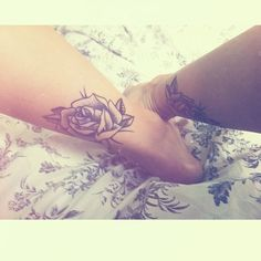 cute rose flower tattoo #ink #YouQueen #girly #tattoos