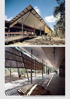 遮陽參考 Bowali Visitor information Center Kakadu National park Australia : Glenn Murcutt Origami Architecture, Tropical Architecture, Australian Architecture, School Architecture, Architecture Details, Landscape Architecture, Landscape Design, Amazing Architecture, Gaudi