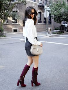Stylish Boots to Get You Through Inclement Weather via @WhoWhatWear