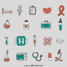 Medical Vectors, Photos and PSD files Hospital Cartoon, Nurse Cartoon, Hospital Icon, Medical Drawings, Doodles, Medical Icon, Doodle Art, Easy Drawings, Vector Free