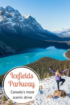 holiday trip 5 breathtaking places to stop along the Icefields Parkway in Alberta - the most scenic drive in Canada Canadian Travel, Canadian Rockies, Places To Travel, Travel Destinations, Places To Go, Alberta Canada, Banff Alberta, Montreal, Gros Morne