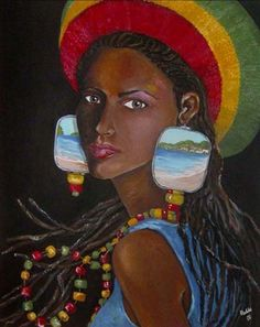 Caribbean woman by Madiha Yearwood