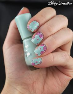 Nailstorming - Flower power !