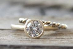Hey, I found this really awesome Etsy listing at https://www.etsy.com/listing/229927252/set-7mm-moissanite-bezel-engagement-ring