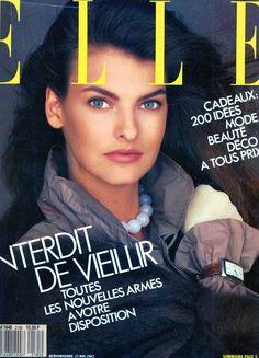 Linda Evangelista - French ELLE 1987