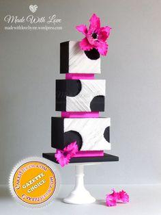 Cut Away Wafer Paper Cake