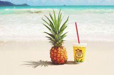 Tropical fruit taste even better at the beach! I Love The Beach, Summer Of Love, Summer Beach, Summer Fun, Summer Time, Surf, Best Seasons, Summer Feeling, Sandy Beaches