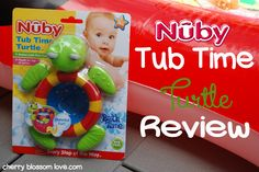 Cherry Blossom Love: Nuby Tub Time Turtle {Review}