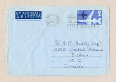J.R.R. Tolkien Airmail Family letter of 14 December 1970 and photograph