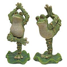 Boogie Down, Dancing Frog Statue   Wayfair