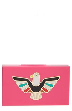 Charlotte Olympia 'Pandora - Eagle' Box Clutch available at #Nordstrom