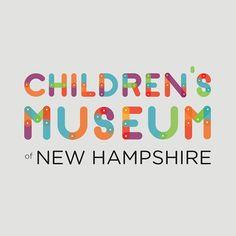 Children's Museum of New Hampshire Re-Brand on Behance Event Branding, Kids Branding, Branding Design, Logo Design, Modern Graphic Design, Graphic Design Inspiration, Preschool Logo, Childrens Logo, Logos