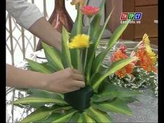 Video hướng dẫn cắm hoa đẹp - Flower arranging instructional video