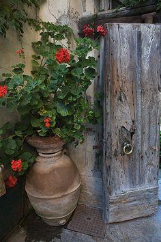 Garden Door, Amalfi coast, Italy by Nick Zungoli