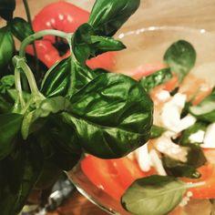 Les #tomatesmozarella, l'#inconditionnel plat préparé sur le pouce et qui nous rappelle à chaque fois que #lesbonneschoses sont les plus simples vous aussi vous la sentez cette odeur de basilic fraîchement cueilli ? #HealthyLife #eatclean #minceur #regime #regimeuse #instadiet #mincir
