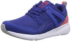 Puma Arial, Unisex-Erwachsene Sneakers, Blau (mazarine blue 05), 40.5 EU (7 Erwachsene UK) - http://autowerkzeugekaufen.de/puma/40-5-eu-puma-aril-unisex-erwachsene-sneakers-grau-7-6