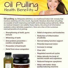 #oilpulling