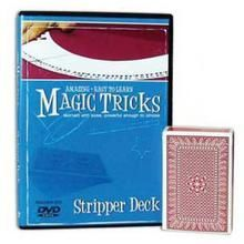 Amazing Easy To Learn Magic Tricks: Stripper Deck Combo