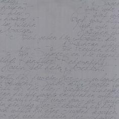 Modern Background in Ink - Basic Handwriting in Ink Steel - Moda - 1580-27 - 1/2 yard