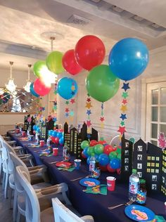 PJ Masks- Decorating Tips and Decorated Cakes - - Avengers Birthday, Superhero Birthday Party, 4th Birthday Parties, Boy Birthday, Birthday Ideas, Pj Mask Party Decorations, Pj Masks Party Favors, Pjmask Party, Party Ideas