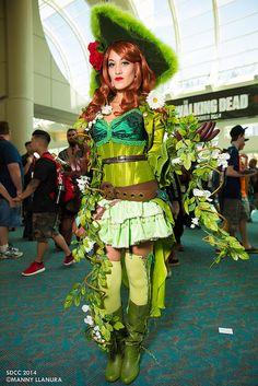 Pirate Poison Ivy - #Cosplay #SDCC San Diego Comic Con 2014 (Manny Llanura)