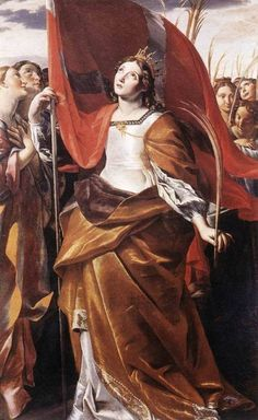 LANFRANCO, Giovanni St Ursula and the Virgins 1622