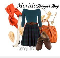 Dapper day Merida!